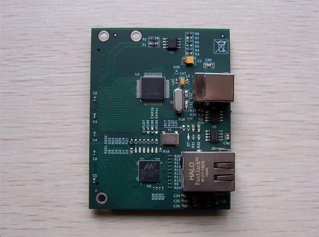 USB 2.0+千兆网子卡