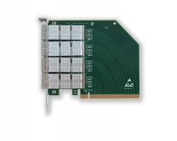 PCIex16 QSFP+扩展子卡